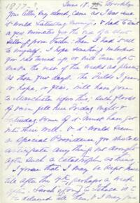 Letter from Adeline Manning, to Anne Whitney, 1877 June 18