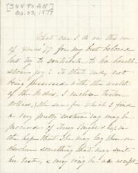 Letter from Sarah Whitney, to Anne Whitney, 1877 December 23