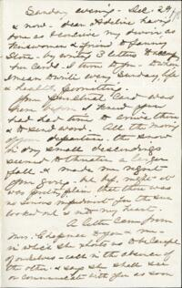 Letter from Anne Whitney, to Adeline Manning, 1878 December 29