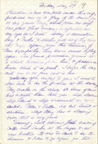 Letter from Adeline Manning, Anne Whitney, 1879 May 29