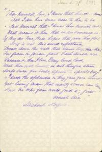 Letter from Adeline Manning, to Anne Whitney, 1879 June 6