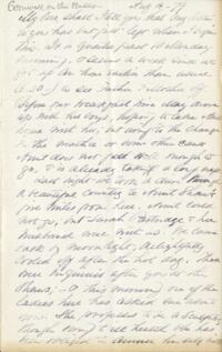 Letter from Adeline Manning, Crornwall on the Hudson, New York, to Anne Whitney, 1879 August 4
