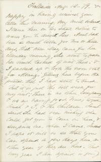Letter from Adeline Manning, Hillside, to Anne Whitney, 1879 August 13