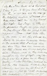 Letter from Adeline Manning, Shelburne, New Hampshire, to Anne Whitney, 1882 July 8