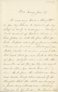 Letter from Sarah Whitney, to Anne Whitney, 1888 June 27