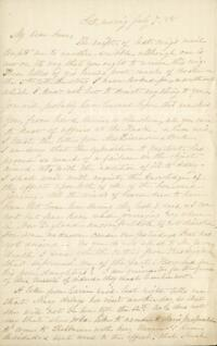 Letter from Sarah Whitney, to Anne Whitney, 1888 July 7