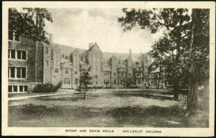 Postcard from Virginia Veeder Westervelt, Wellesley, Massachusetts, to Mrs. Millicent Veeder, Schenectady, New York, 1935 January 9