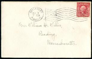 Letter from Ruby Willis, Wellesley, Massachusetts, to Mrs. Willis, Reading, Massachusetts, 1907 October 2