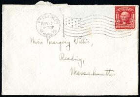 Letter from Ruby Willis, Wellesley, Massachusetts, to Miss Margery Willis, Reading, Massachusetts, 1908 November 2