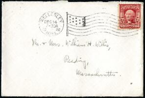 Letter from Ruby Willis, Wellesley, Massachusetts, to Dr. and Mrs. William H. Willis, Reading, Massachusetts, 1908 December 12
