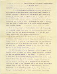 Letter from Mary Rosa, Wellesley, Massachusetts, to her mother, 1914 March 3