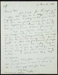 Letter from May-ling Soong Chiang, Shanghai, China, to Emma Mills 1917 November 22