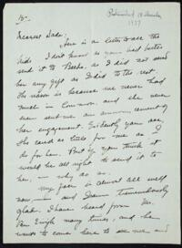 Letter from May-ling Soong Chiang, Shanghai, China, to Emma Mills 1917 December 18