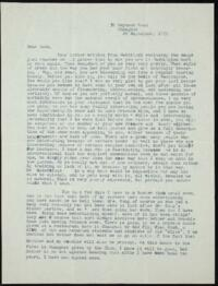 Letter from May-ling Soong Chiang, Shanghai, China, to Emma Mills 1919 September 29