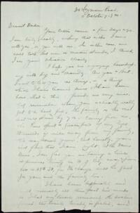 Letter from May-ling Soong Chiang, Shanghai, China, to Emma Mills 1920 October 11