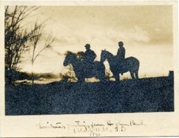 Christmas card from Borglum Ranch, Black Hill, South Dakota : autograph manuscript signed, 1933