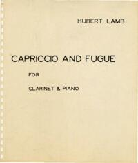 Capriccio and fugue / Hubert Lamb