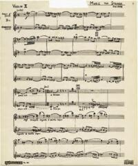 Music, string orchestra / Hubert Lamb. Part for violin II