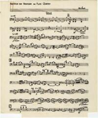 Recitative and variations / Hubert Lamb. Part for viola