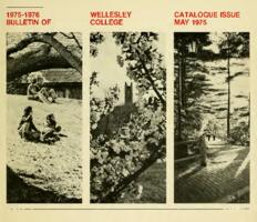 1975-1976 Bulletin of Wellesley College