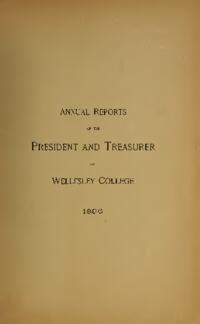 Report of the President 1896