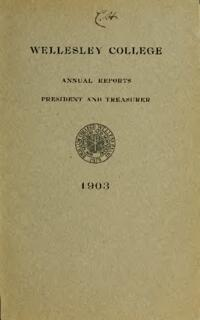 Report of the President 1903