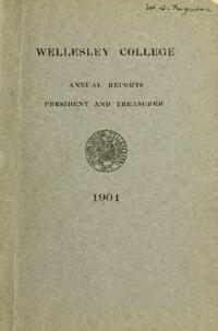 Report of the President 1904