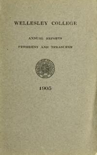 Report of the President 1905
