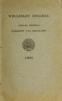 Report of the President 1906