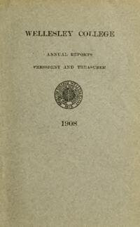 Report of the President 1908