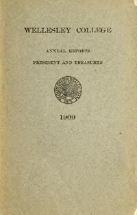 Report of the President 1909
