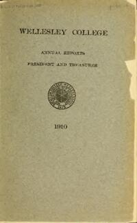 Report of the President 1910