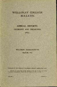 Report of the President 1911