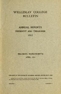 Report of the President 1912
