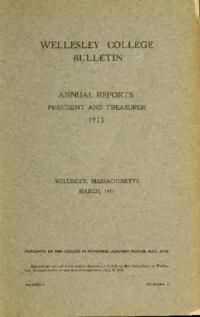 Report of the President 1913