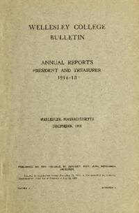 Report of the President 1916-1918