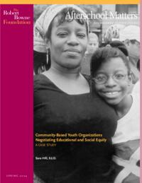 Afterschool Matters Occasional Paper Spring 2004