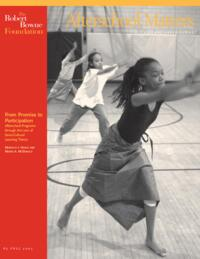 Afterschool Matters Occasional Paper Fall 2005