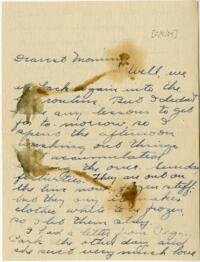 Letter from Jane W. Cary, Wellesley, Massachusetts to Mrs. Wren B. Cary, Windsor, Connecticut, 1914 February 9