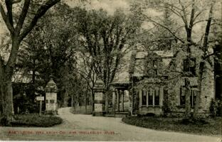 Postcard from Jane W. Cary, Wellesley, Massachusetts to Mrs. Wren B. Cary, Windsor, Connecticut, 1914 May 29