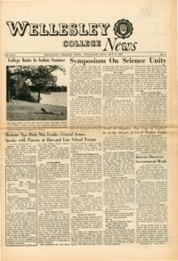 The Wellesley News (10-17-1963)