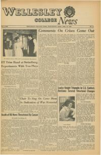 The Wellesley News (02-25-1965)