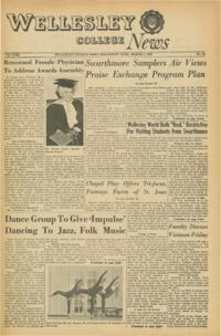 The Wellesley News (03-04-1965)