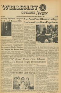 The Wellesley News (03-11-1965)