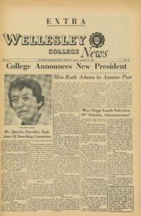 The Wellesley News (03-17-1966). Extra