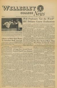 The Wellesley News (12-01-1966)