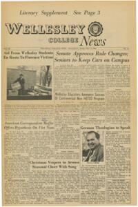 The Wellesley News (12-08-1966)
