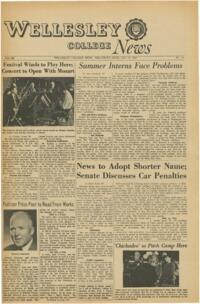 The Wellesley News (01-19-1967)