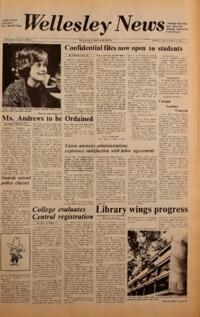The Wellesley News (09-27-1974)