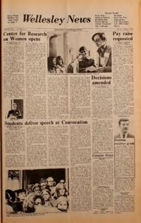 The Wellesley News (04-04-1975)